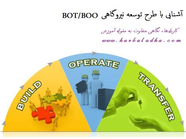 آشنایی با طرح توسعه نیروگاهی BOT/BOO